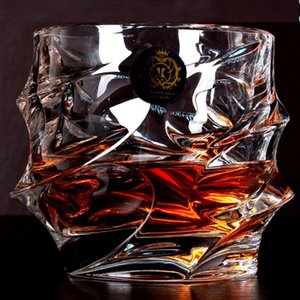 Hot Sale Big Whisky ead-free Crystal Cups High Capacity Beer Glass Wine Cup Bar Hotel Drinkware Brand Vaso Copos