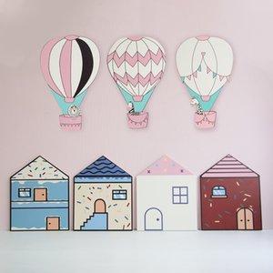 Baby boy girl balloon hot air balloon hot air balloon wall sticker room children's room decoration sticker children's room nursery nursery n