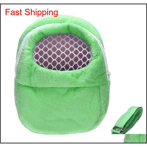 Small Pet Carrier Rabbit Cage Hamster Chinchilla Travel Warm Bags Cages Guinea Pig Carry Pouch qyltFW bdenet