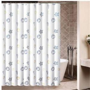 180*180cm Seaworld Polyester Shower Curtain Bathroom Bath Curtains Easy Clean Shower Curtain Water Proof