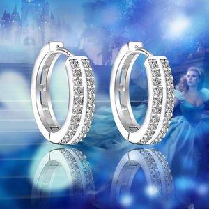 Ladies Luxury Zircon Hoop Earrings New Arrival Gold Mini Earring Gift Women Fashion Jewelry