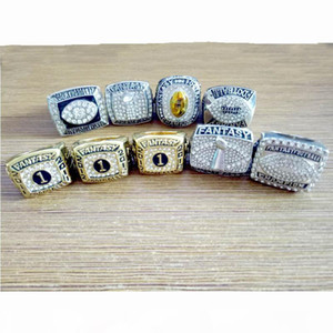 2011 2012 2013 2014 2015 2016 2017 2018 2019 fantasy football Championship set Ring Fan Gift wholesale Drop ShippingCollector's best gi