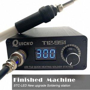 Schnell Heizung T12 Lötstation elektronische Schweißen Eisen Digitale Lötkolben-Station Kit Temperaturregler B1IV #