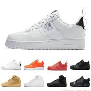 2021 Sapatos de Basquete 1 Sombra Homens Mulheres Treinadores Pálido Cúpula de Marfim Cúpula Branco Laranja Coral Pink Sport Sneakers com Tag EUR 36-45