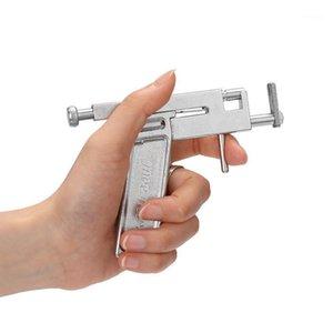 Nail Guns Professional Piering Gun Tool Kit Комплект Уши из нержавеющей стали Инструмент безболезненного уха Машина для носа1