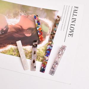 Hot Femmes Mode Vintage Résine acétate épingle à cheveux clip Leopard cheveux clip Clips géométriques Hairpin Accessoires de cheveux