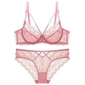 Women's Underwear Luxury Lingerie Femme Designer Sets Lenceria Para Mujer Lace Sexy Transparent Bra Panty Set Girl Costume