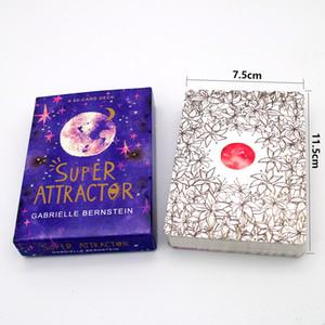 EN STOCK super attracteur A Cartes Cartes Tarot Deck 52-Card English Guide Divination Destin Party vacances en famille Jeux de société cadeaux