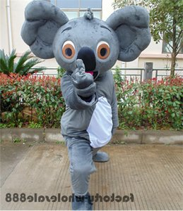 2019 Hot Koala Bear Mascot Costume Suit Cosplay Party Adult Fancy Dress Apparel Cartoon Character Birthday Clothes Gift