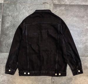 20FW Men's Denim Jacket Loose Lapel Denim Jacket Beads Fashion Buttons New Style Stresswear Casual Size S-XL