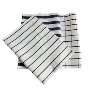 Tapis de table de serviettes en coton pur coton de coton de coton coton tissu tapis tapis tapis de serviette mode simple hôtel Pendentif photo fond de fond 3 N2