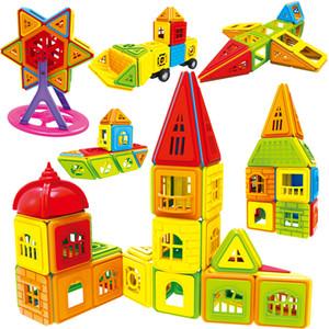 402pcs 3d Diy Magnetic Building Blocks Designer Construction Toys Set Model Magnet Educational Hobbies Toys Or Children Gifts 201009