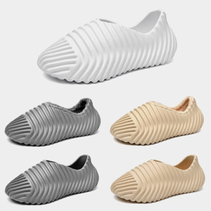 Fahion Indoor slippers Foam Bone women mens slides sandals sliders platform house Summer outdoor beach slipper size 39-45