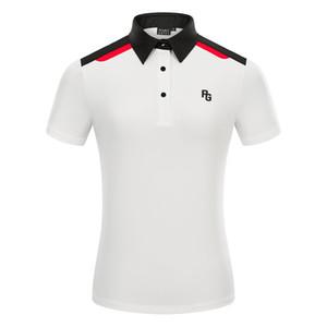 Yaz Yeni Kadın Kısa Kollu Golf T-shirt 3 Renkler PG Spor Giysileri Açık Havada Eğlence Spor Golf Gömlek S-XXL Seçimi Ücretsiz Nakliye