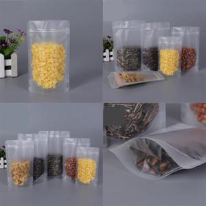 Sacos de plástico transparente cheiro à prova de alimentos embalagem de alimentos organizadores de armazenamento de alimentos tira selo reutilizável doces açúcares 0 56yl c2