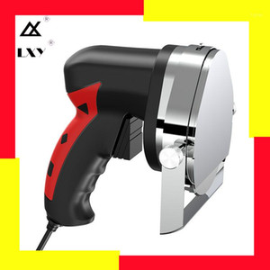 Ticari Elektrikli Kebap Dilimleyici Döner Bıçak Shawarma Kesici El Kızartma Et Kesme Makinesi Gyro Bıçak 220-240 V 110V1