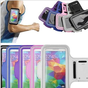 WaterProof arm band Sport Gym Running Armband Protector Soft pouch Case Cover For iphone 4 5 6 4.7 6 plus 5.5 Samsung Galaxy note