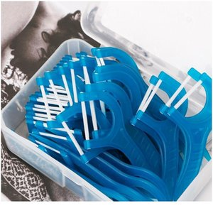 50pcs Dental Floss Flosser Picks Teeth Toothpicks Stick Oral Care Tooth Cleaning 50pc jllauO