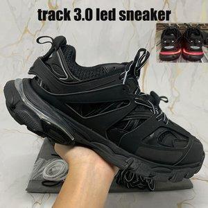 2021 Mejor Canción 3,0 llevado zapatos casuales para hombre de la calidad parís negro naranja rosa blanca de los hombres grises las mujeres zapatillas de deporte 36-45 euros