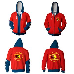 HOT Baywatch Priyanka Chopra zipper Jacket sweatshirts Cosplay Baywatch Costumes 3D Printed Coats Hoodies unisex 201021
