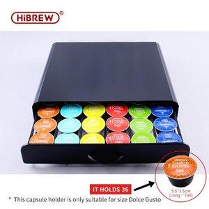 HiBREW gusto storage box drawer cabinet Coffee holder1