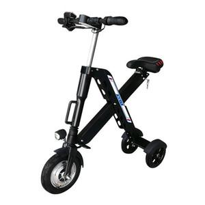 Daibot Pieghevole Bike Electric Bike 3 Ruote Scooter elettrici 36V 350W Veloce Pieghevole Bianco / Blu / Rosso / Nero / Giallo Mini scooter elettrico