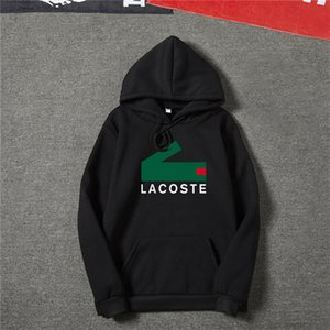 Làcoste Hoodies Men 20ss Fashion Hoodies Men Personality Zipper Sweatshirt Male Hoody Tracksuit Hip Hop Autumn Winter Hoodie