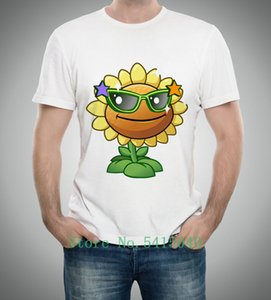 Vendite dirette della fabbrica Nuovo Arrivo Manica corta Manica Corta Plants VS Zombies Cartoon Figure Sport Hot Sport Felpa con cappuccio Felpa con cappuccio T Shirt