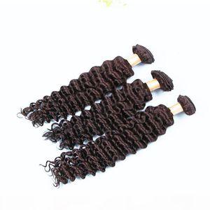 Bester Verkauf Hair Bündel Deep Wave Human Hair Weave 3pcs Los Unverarbeitete malaysische billige Remy Haarverlängerungen, freies Verschiffen