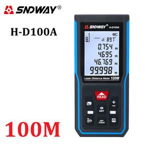 SNDWAY LASER DISION MESTER 50M 70M 100M 120M RangeFinder Цифровой диапазон Finder Trena Roulette Линейка Дистанция Измерительная лента T200603