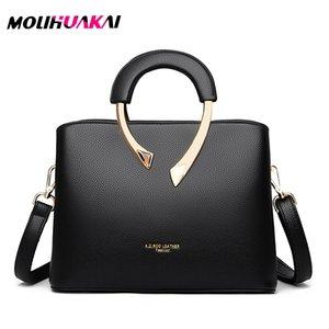 para mujer bolsos elegantes de diseñador para mujer bolsos de hombro tipo bandolera de Farbe sólido a la moda para mujer bolso 1018