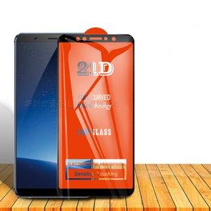 21D téléphone cellulaire Film en verre trempé pleine courbe écran protecteur pour VIVO X9S X9Splus X20 X20Plus X21 X21i X23 X27 X30Pro