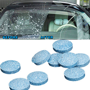 Car Solid Cleaner Effervescent Tablets Spray Cleaner Car Window Windshield Glass Cleaning Auto Accessories DHL Free