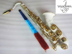 Yanagisawa T-992 Nuovo sassofono Tenor Sax B SAX B Tenor Sax Playing Professionalmente Paragrafo Musica Bianco Gold Gold Sassofono