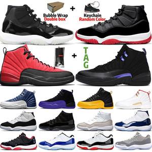 aj retro 11 Zapatillas de baloncesto Concord 45 Platino Tinte, gorro y bata Hombres Mujeres UNC Gimnasio Rojo Gamma Azul Oliva Lux Trainer Sport Sneaker