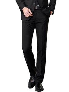 Trousers men's straight slim loose business dress casual fashion Korean version of high men's suit pants suit pants