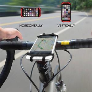 Cgjxs Darbeye Kararlı Evrensel Bisiklet Telefon Tutucu Silikon Elastik Band Gidon Gps Telefon Parantez Bisiklet Motosiklet Dağı İçin Out Standı