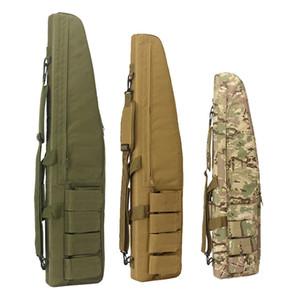 70 100 120cm Sac de chasse militaire Airsoft Sniper Gun Carry Case Fusil Armée Combat Carabine épaule Sac à dos de chasse Accessoires 201022