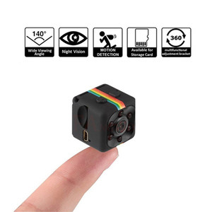 1 mini macchina fotografica di rete SQ11 telecamera Night Vision Camera Car Dvr grandangolare Portable Network Support Hidden TF card