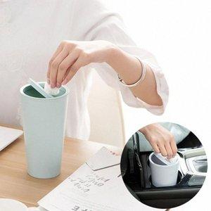 Trumpet Desktops Mini lixeiras criativa coberto lixo da cozinha sala de estar pode cubo basura reciclaje # A tsBL #