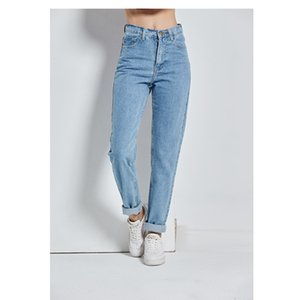 2020 Harem Vintage High Waist Woman Boyfriends Women's Full Length Mom Jeans Cowboy Denim Pants Vaqueros Muje