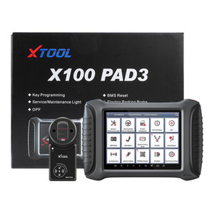XTOOL X100 PAD3 Auto Key Programmer Support All Key Lost Odometer Adjustment OBD2 Car Diagnostic Tool With KC100 & KS-1