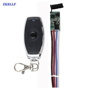 Remote Controlers 433mhz DC 1CH 3.6V 8V 12V 24V Mini Relay Wireless RF Control Switch Power LED Lamp Controller Micro Receiver Transmitter