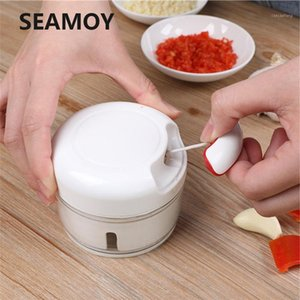 Power Grinder Manual Manual Kitchen Knife Kitchen Knife Mixer Cut Meat Fruit And Vegetable Mut Crusher 170ML1
