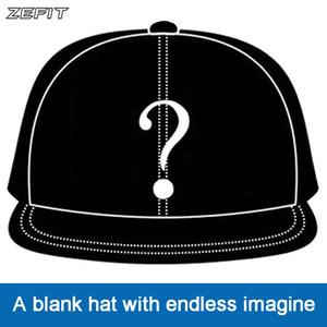 sangle pression de bouchon Zefit personnalisé sur le dos plat couvre-chef conception bord personnalisé 3D petite commande Livraison gratuite chapeau de baseball personnalisé 201019