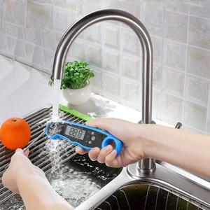 الفولاذ المقاوم للصدأ الغذاء cookin لطي الطبخ الرقمي الغذاء ميزان الحرارة أداة قياس اللحم المنزلية كاشف المطبخ شواء DH0150