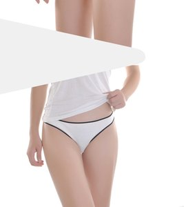 Sexy Thong Panties Woman Underwear Lady Seam Sports T-back Soft Ice Silk G- string Girl Underpants Set