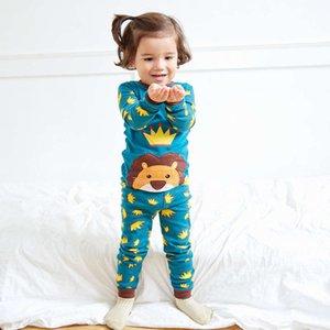 И корейский Vaenait Winter Doundea Осенний костюм Дом Длинные Свены Носить Детский Хлопок Pajamas