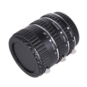Red Metall Auto Focus Macro Extension Tube Ring For 600D 550D 200D 800D Eos Ef Ef-S 6D For Camera Accessory