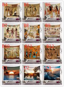 Designs 150 * 130 cm Tapisserie Bohemian Mandala Mandala Suspension Eléphant Plage de plage Chapitre Yoga Tapis de Polyester Tapisserie Decor GWC3514